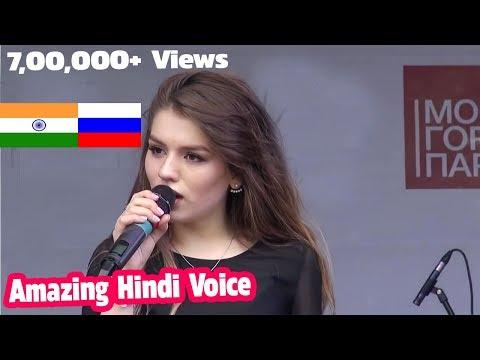 Russian Girl Sings | Part - 2 | Ae Dil Hai Mushkil  - Amazing Hindi Voice - Amit Ral