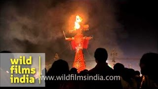 Burn! Burn! Burn! Ravana!!!