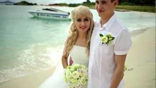 Свадьба Яны и Александра на острове Ко Рин, Таиланд