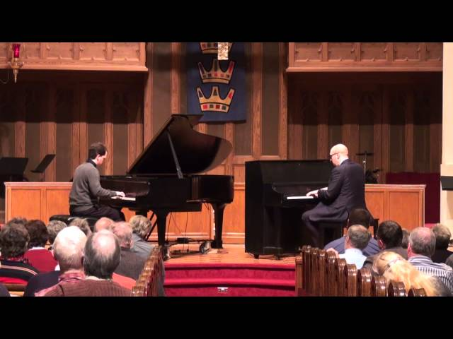 CALICO RAG - Bryan Wright & Martin Spitznagel - Ragtime Piano Duet