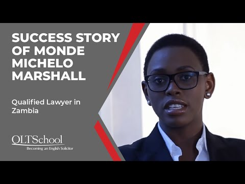Success Story of Monde Michelo Marshall - QLTS School's Former Candidate
