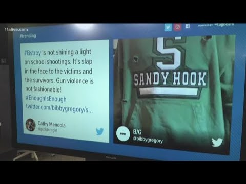 Aaron Zytle - Hoodies With Bullet Holes Of Schools That Had Mass Shootings Are For Sale