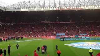 MUFC vs Swansea | Take me home, United road & Kagawa Song