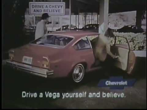 1976 Chevy Vega Commercial featuring Jack Riley of the Bob Newhart Show. Worst Car