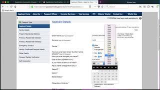 PassportIndia.Gov.IN - How to Renew Indian Passport Online (Hindi) (April 2018)