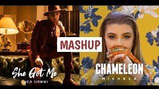 Luca Hänni x Michela [Mashup] She Got Me/Chameleon - Eurovision