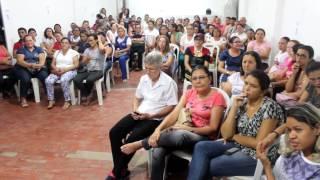 Aristides informa o sindicado dos servidores de Limoeiro do Norte que vai aderir a paralisação do dia 28
