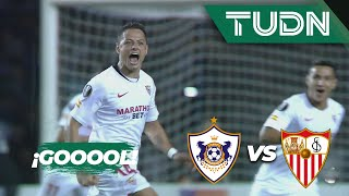 ¡Gooolazo del Chicharito! | Qarabaj 0 - 1 Sevilla | Europa League Grupo A - J1 | TUDN