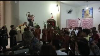 Homenagem das Crianças para Santo Antônio 2017