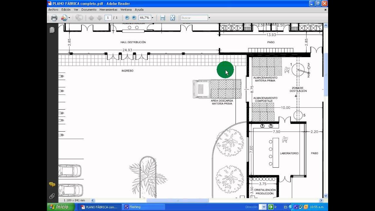 Plano de la planta youtube for Plano de planta