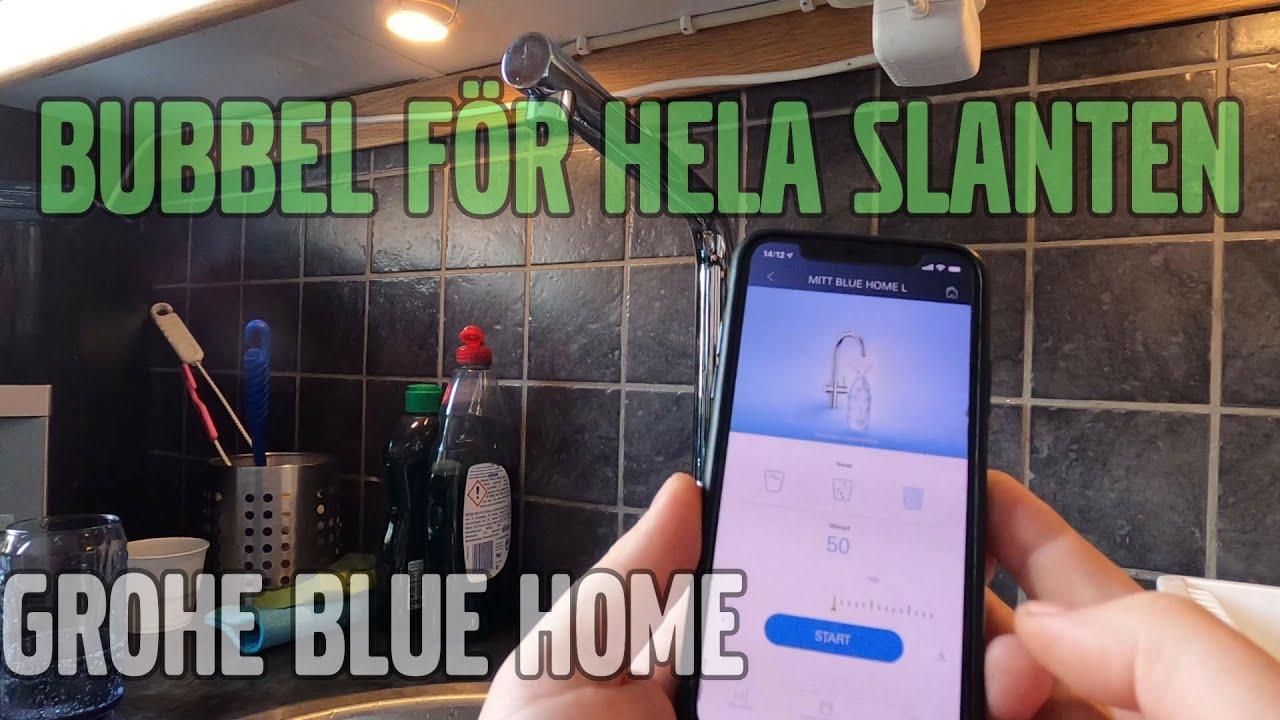 Installerar Grohe Blue Home