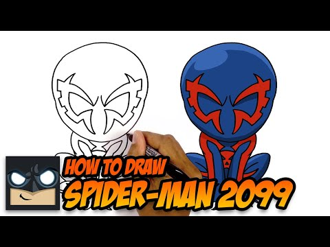 How To Draw Spider-Man 2099