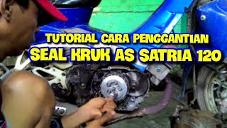 Video Tutorial cara pengantian seal kruk as satria 120 download MP3, 3GP, MP4, WEBM, AVI, FLV Agustus 2018