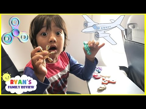 Thumbnail: FIDGET SPINNER CHALLENGE ON THE AIRPLANE and Extreme Warheads challenge Sour Candy