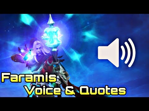 Faramis Voice And Quotes - Mobile Legends Bang Bang