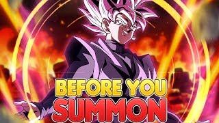 Before You Summon NEW Transforming Goku Black   Dragon Ball Z Dokkan Battle