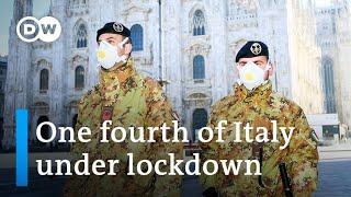Coronavirus: Italy puts millions under quarantine | DW News