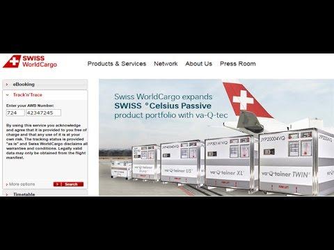 Swiss World Cargo Tracking,Swiss World Air Cargo Tracking ...