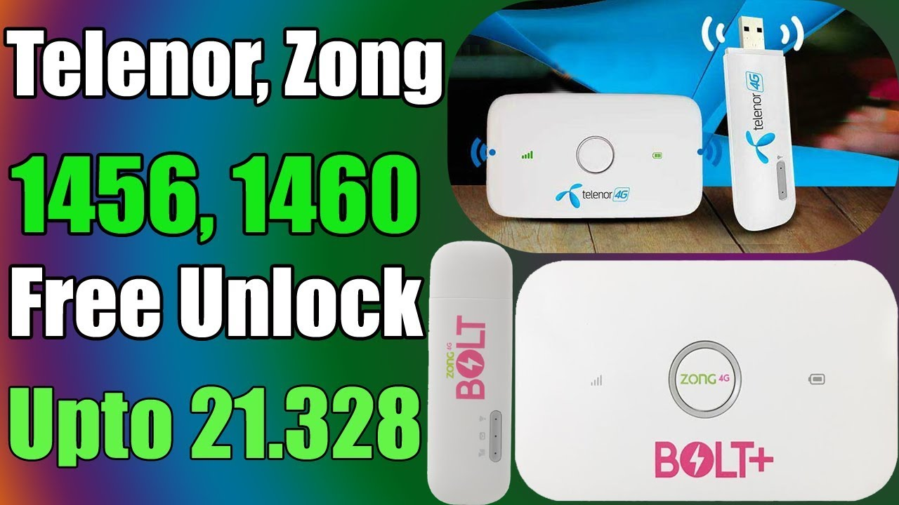 Free - Huawei Zong Telenor E5573cs, E8372H All Version Available