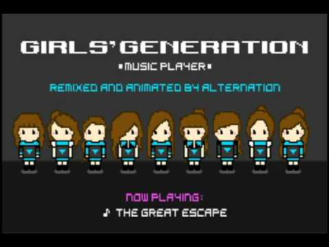 Girls' Generation - The Great Escape (alternation's 8-Bit Remix)