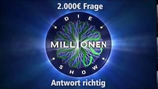 2.000€ Frage - Antwort richtig | Millionenshow Soundeffect