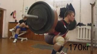 Тренировка пауэрлифтинг 28 02 17г