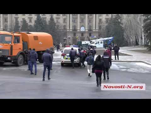 Видео 'Новости-N':  В Николаеве  на мероприятии произошла драка