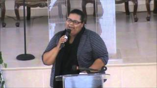 Emily Peña  MENSAJE SANTIAGO 4:7(RESISTE)