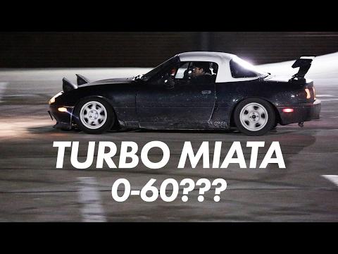How Fast is my Miata? 0-60 Times