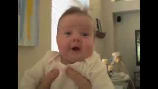 baby goes crazy when dad farts laughing babies toddletale youtube mp4