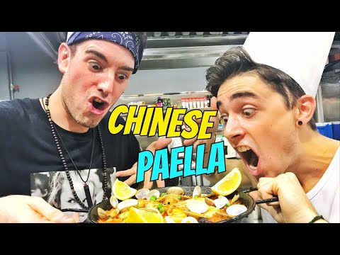 Cooking Chinese RED PAELLA [Argentina VS Spain]