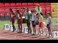 English Schools Athletics Championships 2015 - Boys & Girls Hurdles
