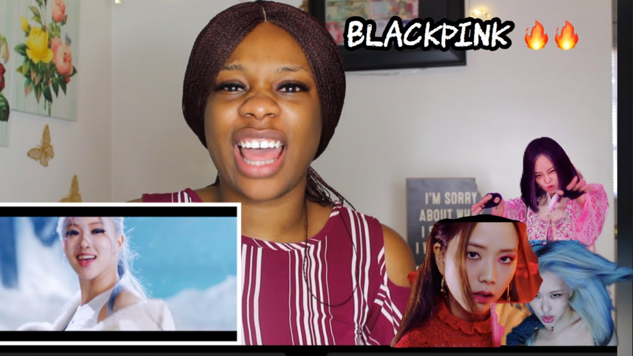 BLACKPINK 'HOW YOU LIKE THAT' M/V REACTION!!!!