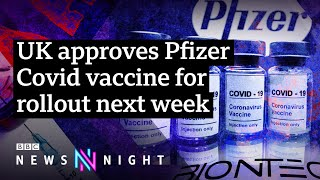 How does the UK plan to rollout the Covid vaccine? - BBC Newsnight