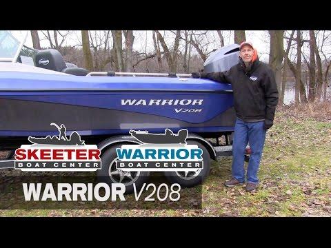 New Warrior V208 Walk Around - Warrior Boat Center - Ramsey, MN & Chippewa Falls, WI