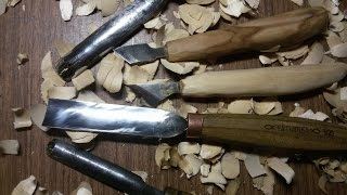 Резьба Стамеска Татьянка Самодельные резцы по дереву Обзор Отзыв Wood carving DIY