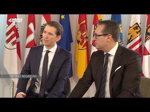 Bundeskanzler Kurz & Vizekanzler Strache im Puls4 Interview