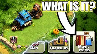 NEW UPDATE IS HERE!! WHAT ARE MAGIC ITEMS!? - Clash Of Clans