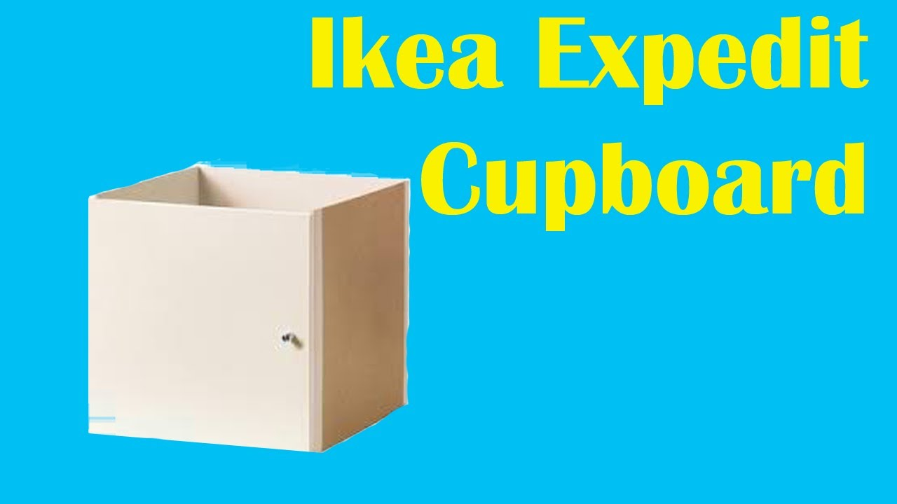 Ikea Kallax Expedit Cupboard put together  YouTube