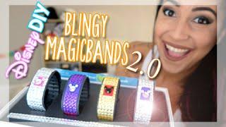 Disney DIY: Blingy Magic Bands 2.0 | BenildaVlogs