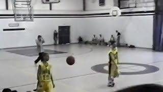 Steph Curry 12 Years Old Pickup Game (Rare Footage)