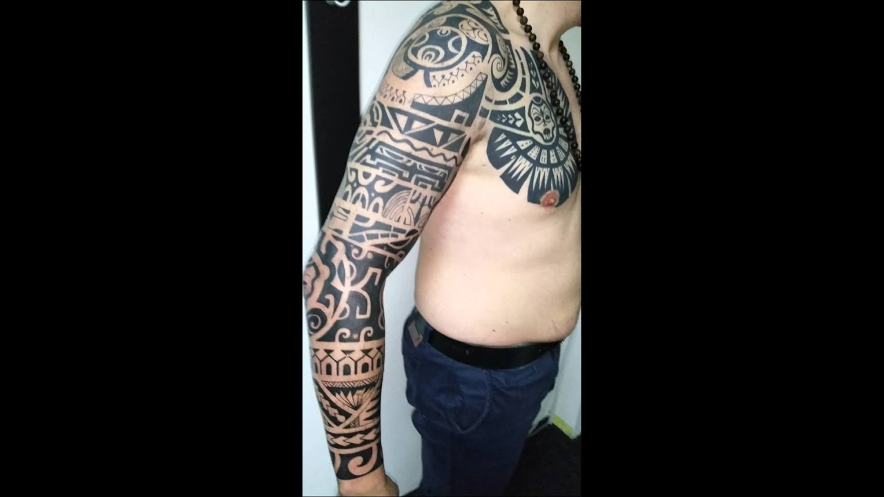 Full sleeve tattoo maori the rock by tatuaje brasov beatris dwayne full sleeve tattoo maori the rock by tatuaje brasov beatris dwayne johnson altavistaventures Image collections