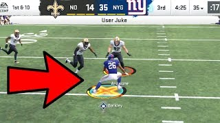 Saquon Barkley FIRST ONE FREE ACTIVATED! Saints vs Giants Madden 20 Online Gameplay
