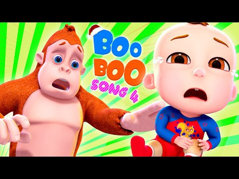 Boo Boo Song 4   And More Nursery Rhymes & Kids Songs   Cartoon Animation For Children