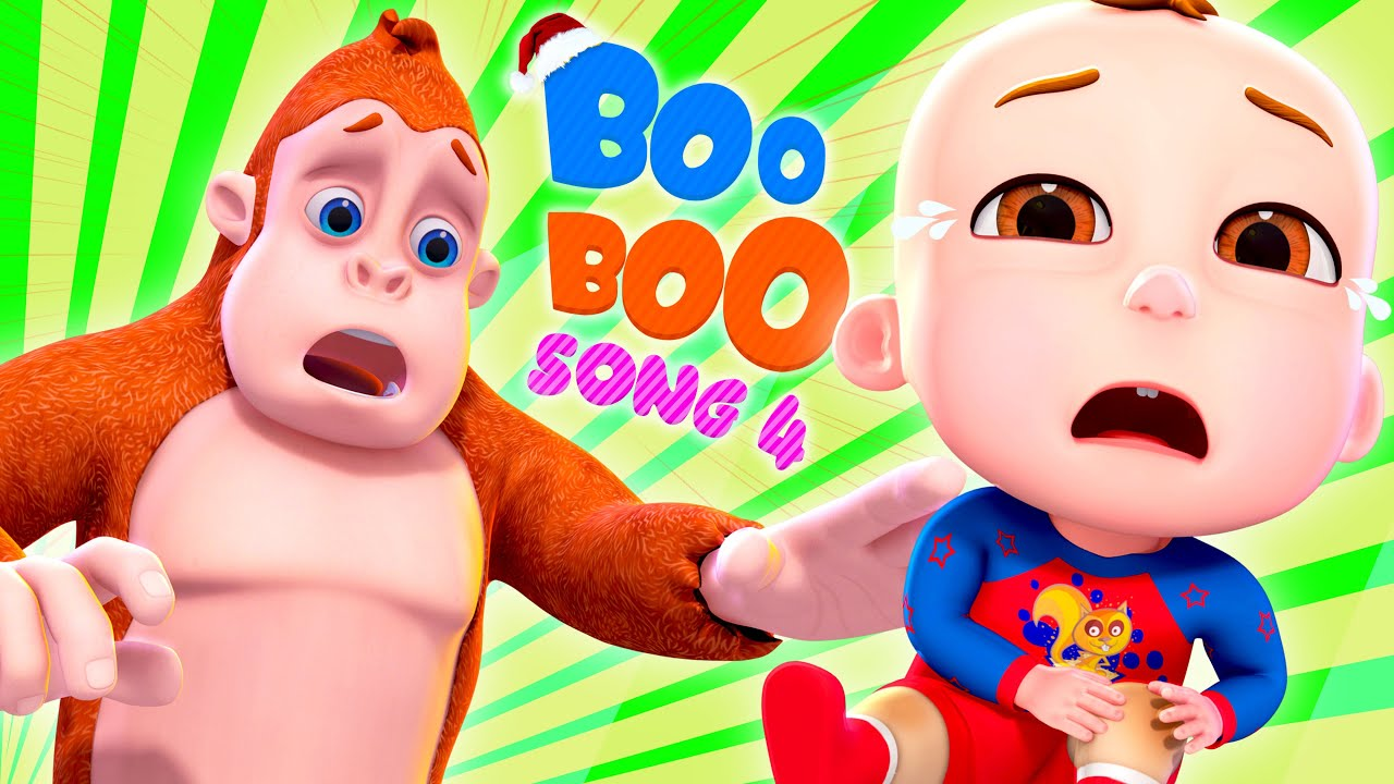 Download Boo Boo Song 4   And More Nursery Rhymes & Kids Songs   Cartoon Animation For Children