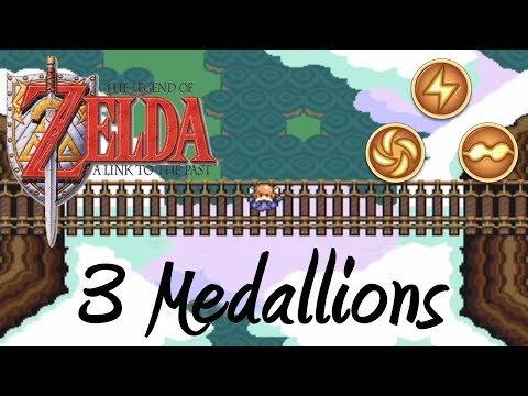 Link to the Past - 3 Medallions Walkthrough (Ether, Bombos, Quake)