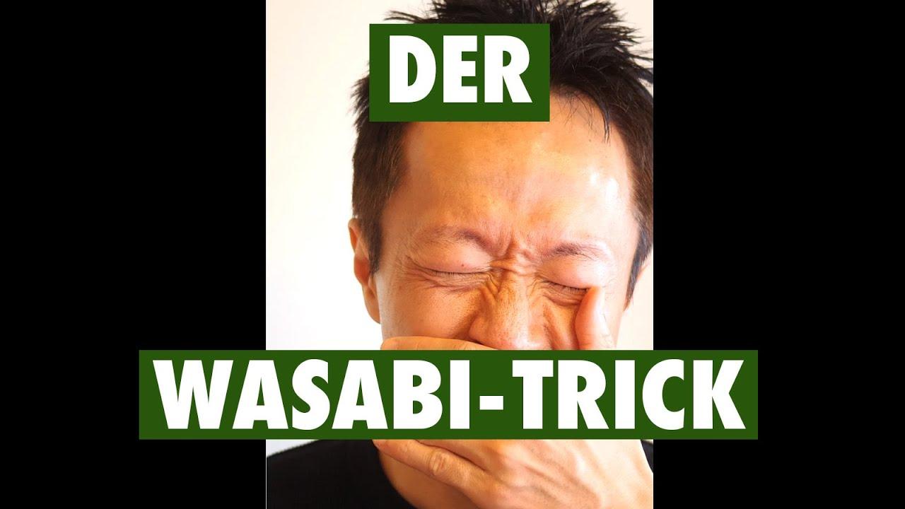 Lifehacks aus Japan, immun gegen Wasabi-Schärfe #shorts