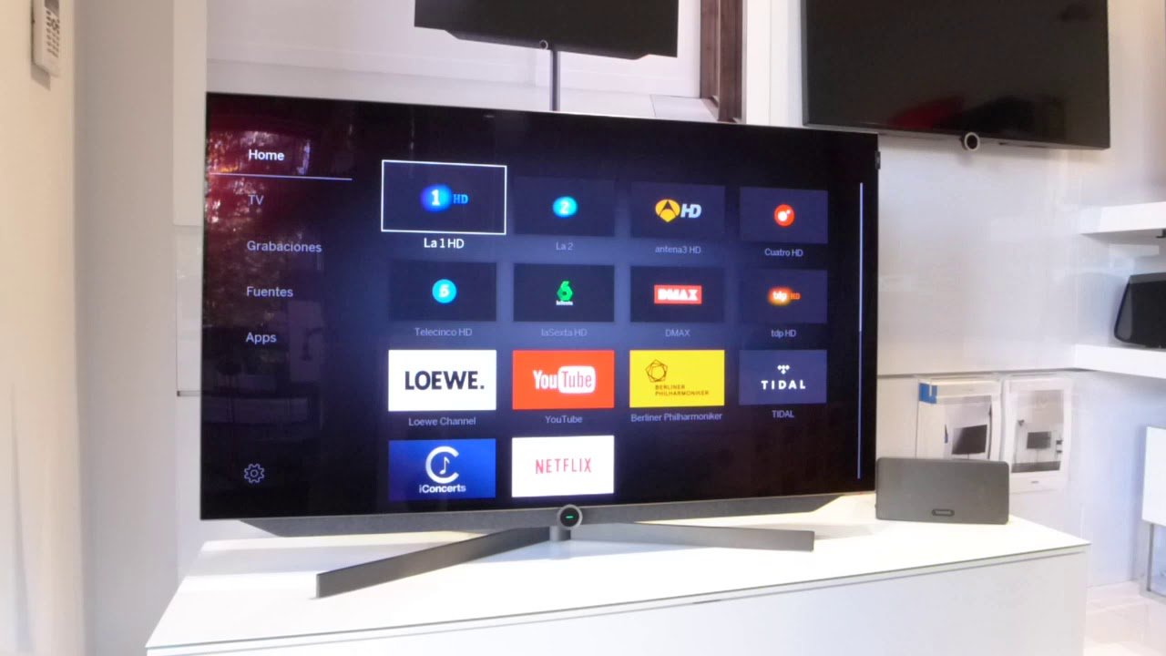 TV Loewe Activar Bluetooth YouTube