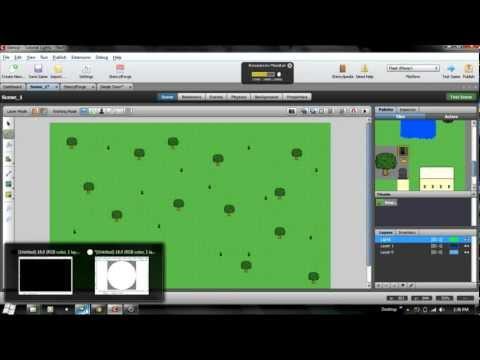 Stencyl Tutorial 2 Making a Basic Game Part 2 | FunnyDog.TV