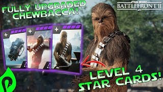 Star Wars Battlefront 2: Fully Upgraded Chewbacca Gameplay/Killstreak!!!